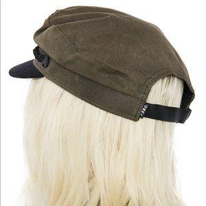 Dolls Kill Accessories - Obey Jaxon Hat captain biker olive cap
